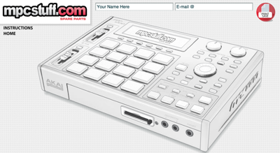 MPC1000 Customizer
