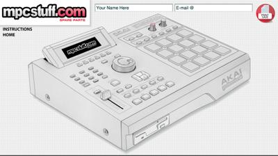 MPC2000XL Customizer