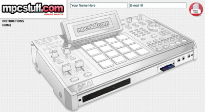 MPC 2500 Customizer