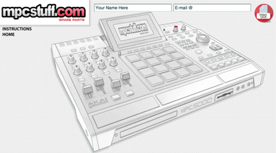 MPC 5000 Customizer