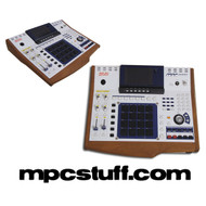 Akai MPC 4000 Wood Side Panel End Cap Kit
