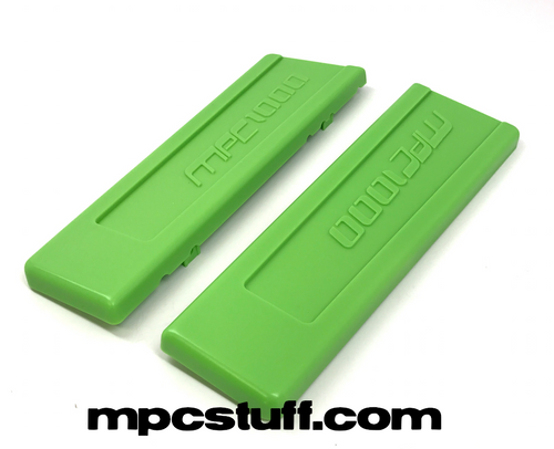 Bright Lime Green MPC1000 End Cap Set