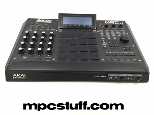 Akai MPC Renaissance - NEW - Custom MPCstuff Black SE - ALL BLACK - MURDERED OUT