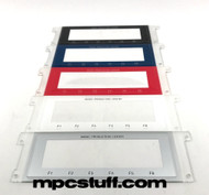MPC 1000 LCD Window Plastic Clear ( Black / Red / Blue / Silver / White )