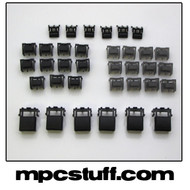 MPC 1000 Black Replacement Button Set Kit