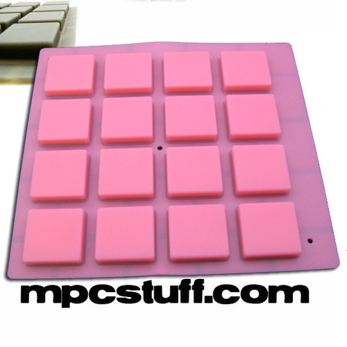 MPCstuff Thick Fat Pads for Akai MPC and MPD - Pink