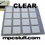 Thick Fat Pads Akai MPC and MPD - Clear