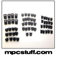 MPC 5000 Black Replacement Button Set Kit