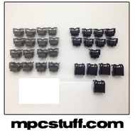 MPD 32 Black Replacement Button Set Kit