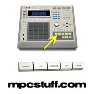 MPC 3000 / MPC 60 Locate Buttons (White)