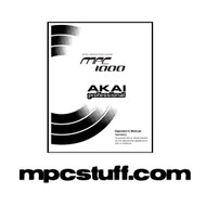 MPC 1000 Owners Manual