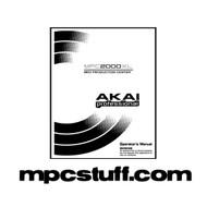 MPC 2000 XL Owners Manual
