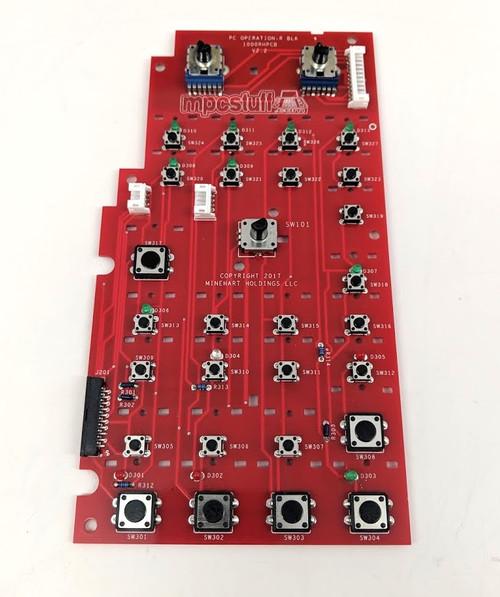MPC 1000 Right Hand PCB Board - Metal Encoder Version  - Better Click Tact - MPCstuff