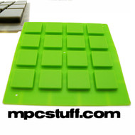 Akai MPD / MPD Thick Fat Pads Neon Bright Green