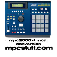 MPC 2000 XL Complete MCD Conversion Kit