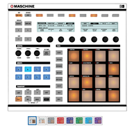 Native Instruments Maschine MK1 / MK2 Faceplate Skin - Any Color