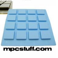 Carolina Light Blue Thick Fat Pads Akai MPC / MPD