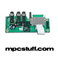 Akai MPC1000 Memory Card / Headphone PCB Board