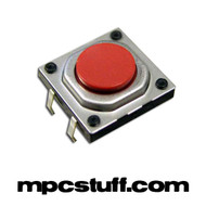 MPC Red Under Button Tact Switch