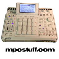Akai MPC 2500 XLCD - ALL WHITE - ALL OPTIONS - CUSTOM