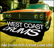 West Coast Drums - Sound Kit