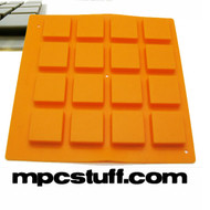 Orange Thick Fat Pads Akai MPC MPD