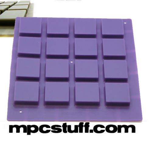 Purple Akai MPC / MPD Thick Fat Pads