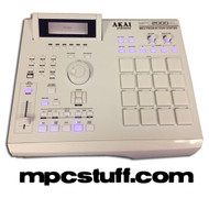 Akai MPC 2000XL - ALL WHITE - CUSTOM + Upgrades