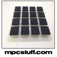 Akai MPC Renaissance Thick Fat Pad Set - Black