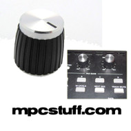 Silver Top Black Knob for Akai MPC , MPD , MPK , Maschine