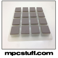 Akai MPC Renaissance Thick Fat Pad Set - Grey