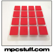 Akai MPC Renaissance Thick Fat Pad Set - Red