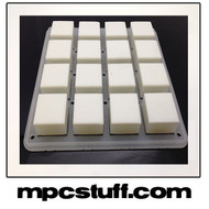Akai MPC Renaissance Thick Fat Pad Set - White