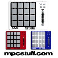 Akai MPD18 Color Faceplate Skin - Choose Color