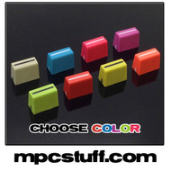 Custom Color Rubberized Slider Knob for Akai MPC , MPD , MPK , APC