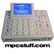 Akai MPC 1000 XLCD - ALL WHITE - ALL OPTIONS - CUSTOM