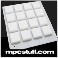 White MPC Thick Pads