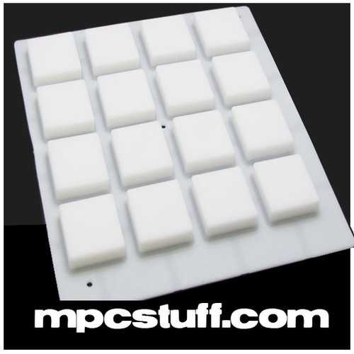 White MPC Thick Pads