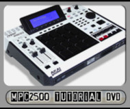 AKAI MPC2500 Instructional DVD - Video Tutorial