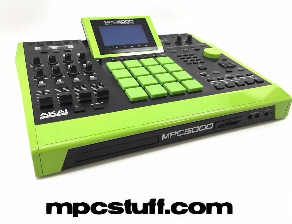 Akai MPC 5000 - Refurbished - Full Painted Custom - Upgrades (Select Color)
