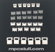 MPC 1000 Bright White Replacement Button Set Kit - Pictured