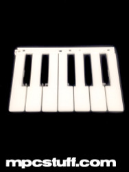 White Key Set ( 7 Keys ) - Akai LPK25