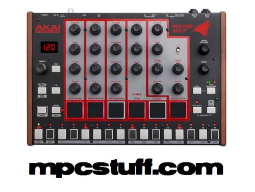 Akai Rhythm Wolf - Analog Drum Machine and Bass Synthesizer