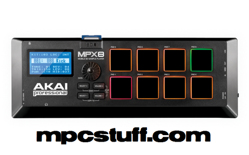 MPX8 - Mobile SD Sample Player
