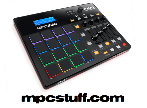 Akai MPD226 Feature-Packed, Highly Playable Pad Controller (MPD226)