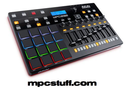 Akai MPD232 Feature-Packed, Highly Playable Pad Controller (MPD232)
