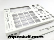 MPC 1000 All White Metal Casing Complete Kit - Top Side