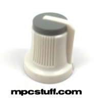 Main Volume Knob White / Grey Top - Akai MPC