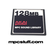 Akai MPC Original Compact Flash Card w/ Akai Sound Library
