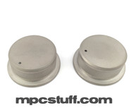 Aluminium Titanium Look Finish - Volume / Record Knob Set - Akai MPC 1000